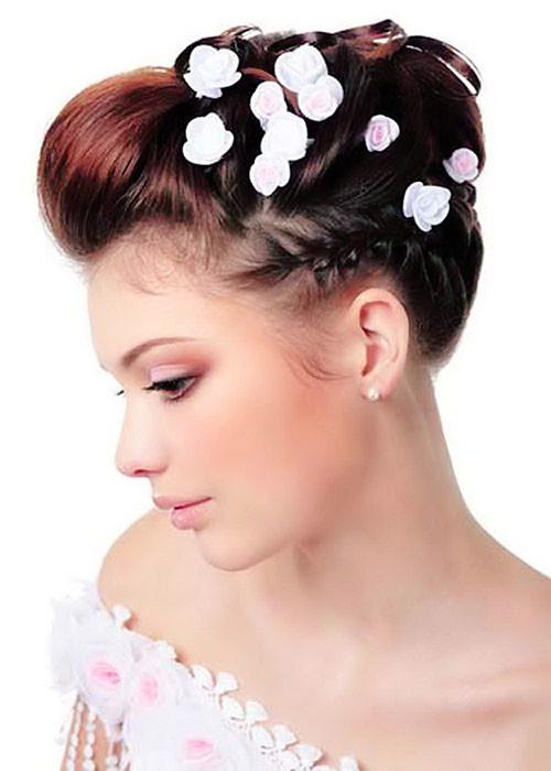 Beach-wedding-hairstyles-for-short-hair Short Wedding Hair Ideas