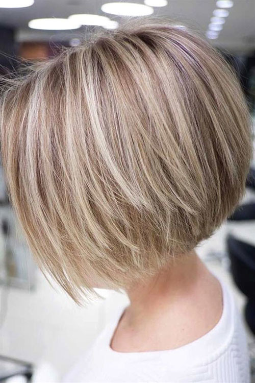 Blonde-Highlights-1 Various Short Blonde Bob Hairstyles