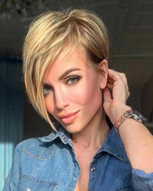 Blonde-Pixie-Haircut-1 Best Hairstyle Ideas for Short Hair