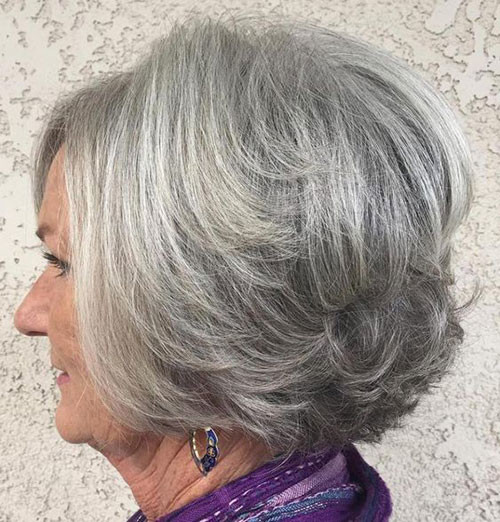 Bob-for-Over-50 Best Short Haircuts for Women Over 50