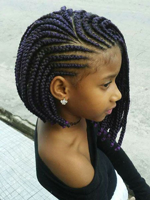 Box-Braids Cute Short Haircuts and Styles Women