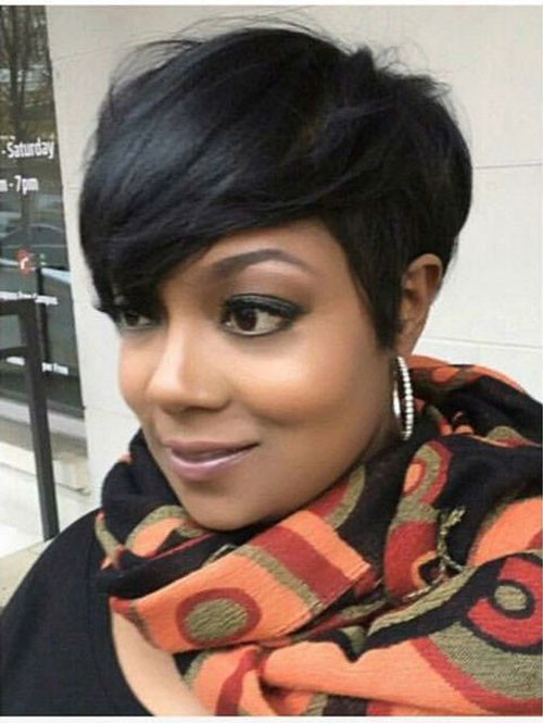 Casual-Short-Hair In Style Short Haircuts for Black Women
