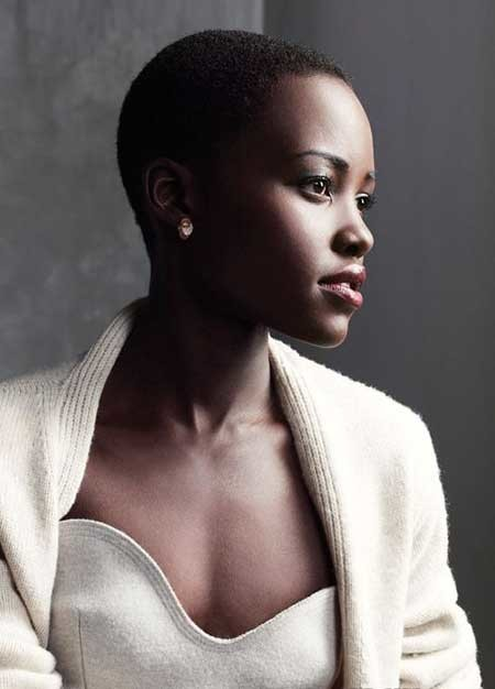 Charming-Cleanly-Trimmed-Pixie-Cut The best short haircuts for black women