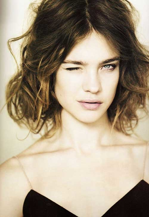 Chic-Short-Easy-Curly-Bob-Hair Easy Hairstyles For Short Curly Hair