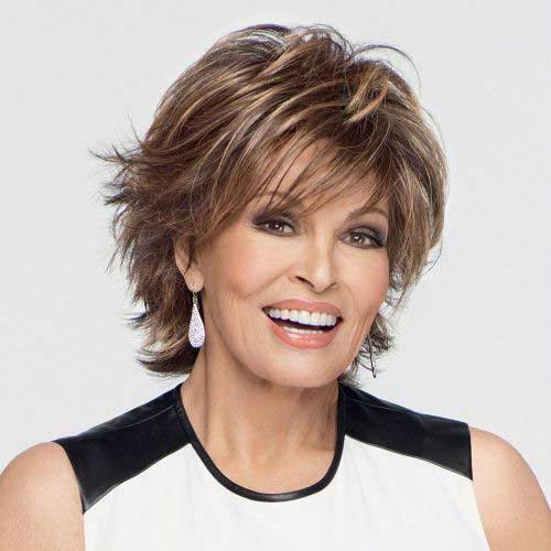 Chic-Short-Hair-Style-for-Over-50 Short Hair Styles for Over 50