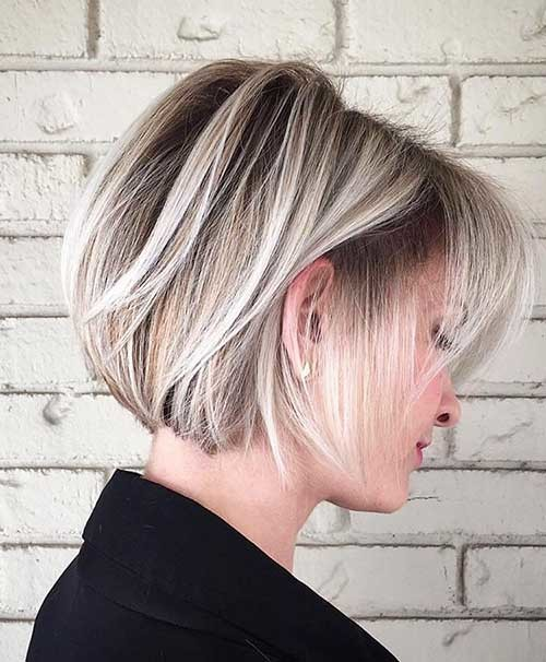 Cool-Blonde-Short-Bob-Hairstyle Cool Short Hairstyles You Can Rock This Summer