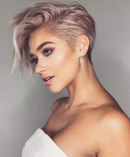 Cool-Pastel-Hair-Color Trendy Hair Colors for Short Hair for Ladies
