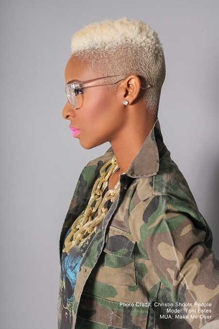 Cool-and-Awesome-Platinum-colored-Mohawk-Short-Hair The best short haircuts for black women