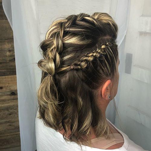 Cute-French-Braids-For-Short-Hair Best French Braid Short Hair Ideas 2019