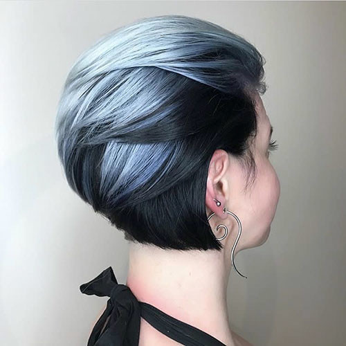 Cute-Hair Popular Short Blue Hair Ideas in 2019