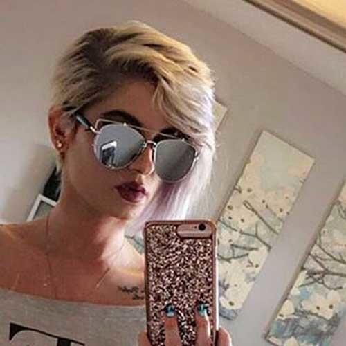 Different-Style Chic Short Hair Ideas with Bangs