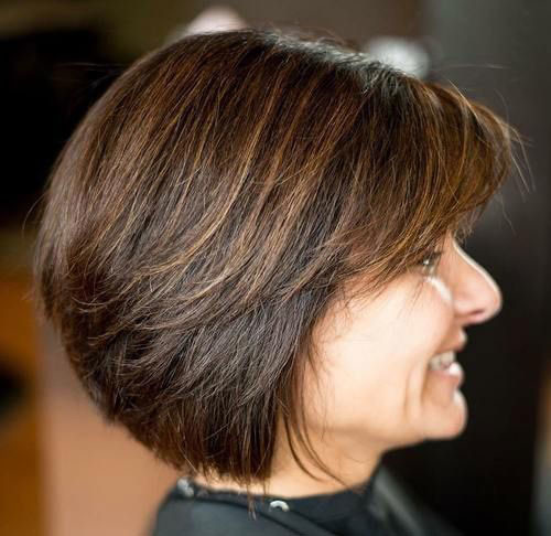 Easy-Bob-Cut Best Short Haircuts for Women Over 50