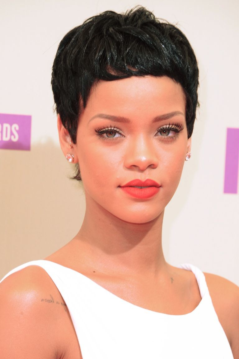 Elegant-Pixie Best Short Hairstyles for Black Women