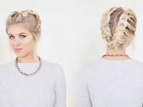 French-Braid-Styles-For-Short-Hair-1 Best French Braid Short Hair Ideas 2019
