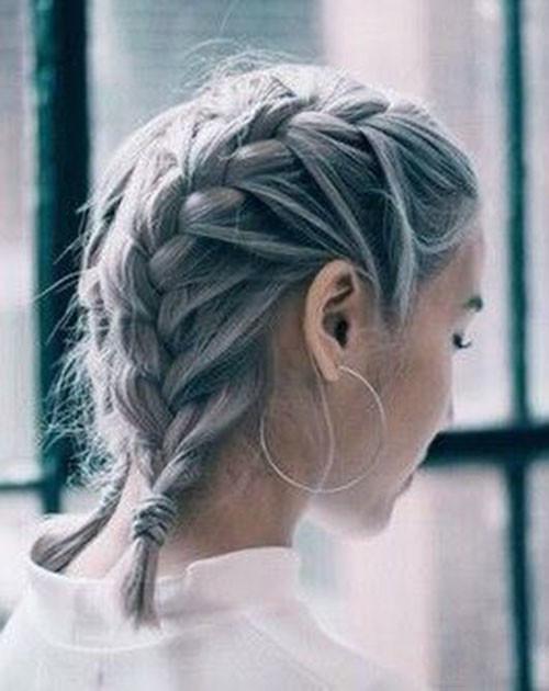 French-Braids-Short-Hair Best French Braid Short Hair Ideas 2019
