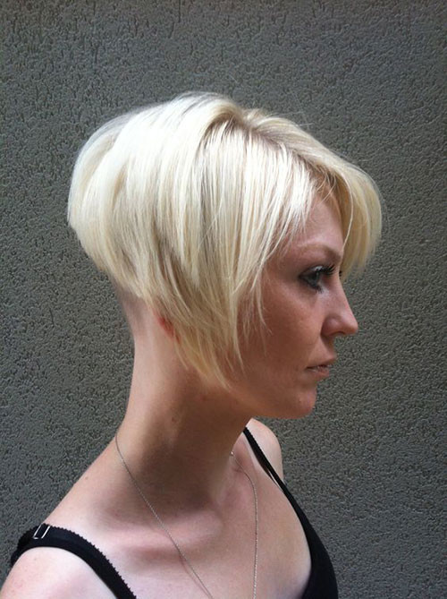 Graduated-Pixie-Bob Various Short Blonde Bob Hairstyles