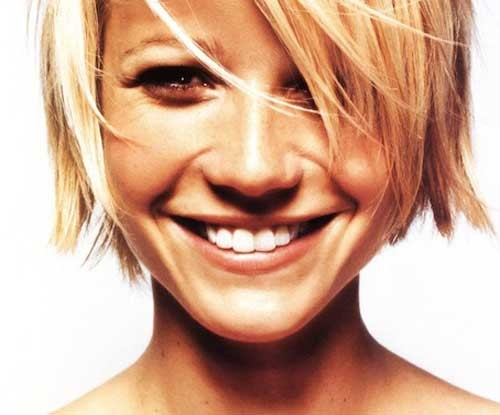 Gwyneth-Paltrow-short-hair Celebrity Women with Short Hair