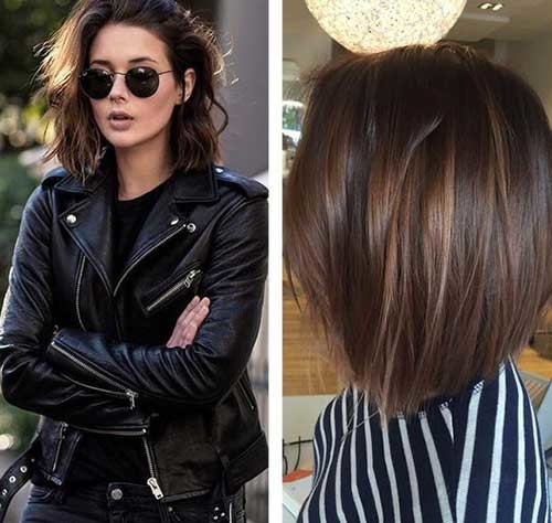 Highlights Best Must-Try Brunette Bob Haircuts