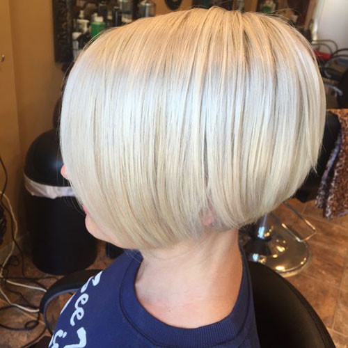 Ice-Blonde-Hair Various Short Blonde Bob Hairstyles