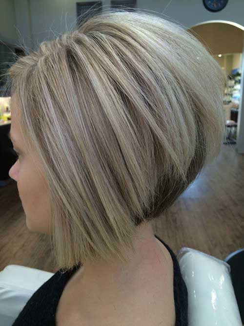 Inverted-Bob-1 Elegant Short Haircuts for Thick Hair