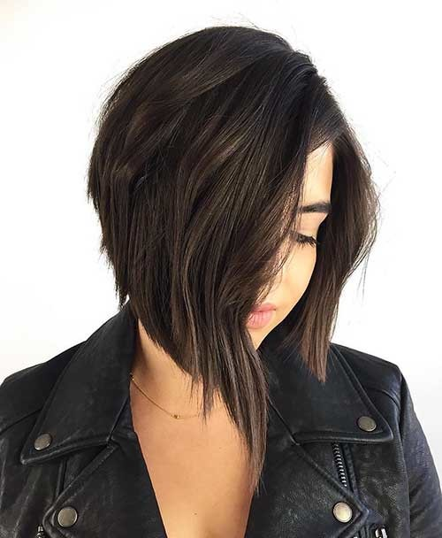 Inverted-Bob-Haircut Cool Short Hairstyles You Can Rock This Summer