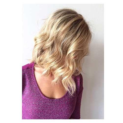 Inverted-Lob-Hairstyle Striking Short Hair Ideas for Blondies