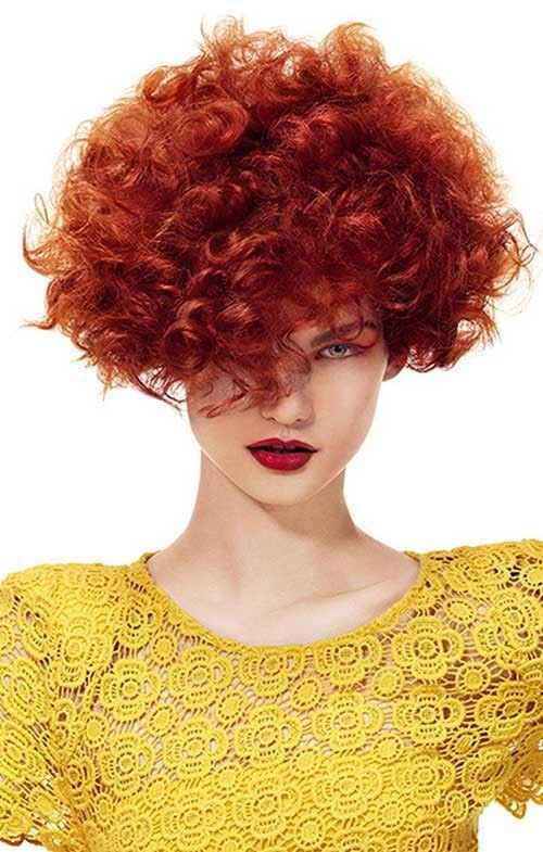 Latest-Curly-Short-Hairstyles-9 Latest Curly Short Hairstyles 2019