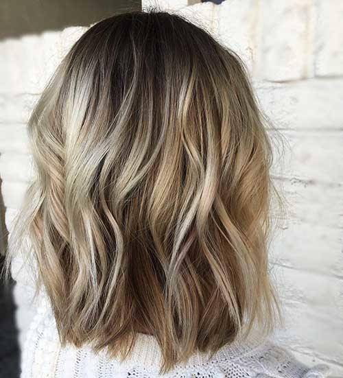 Layered-Blonde-Bob Cool Short Hairstyles You Can Rock This Summer