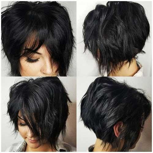 Layered-Cut-Short-Hair Flattering Layered Short Haircuts for Thick Hair