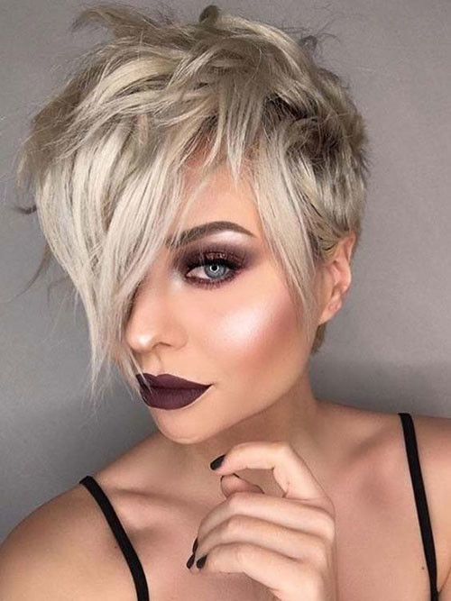 Layered-Long-Pixie-Style Best Pixie Cuts for Blonde Hair