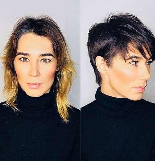 Layered-Pixie-Cut-7 Before and After Pics of Short Haircuts