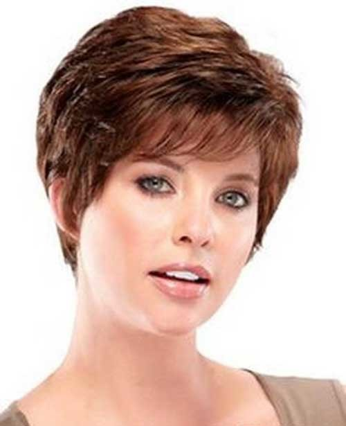 Layered-Pixie-Hair-Style-for-Over-50 Short Hair Styles for Over 50