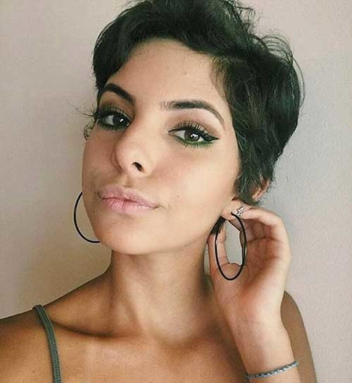 Messy-Pixie-Style Nice Short Hairstyle Ideas for Teen Girls