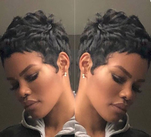 Modern-Short-Pixie Short Pixie Haircuts for Pretty Look