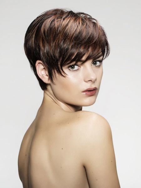 Multiple-Layers Trendy Haircuts for Short Hair