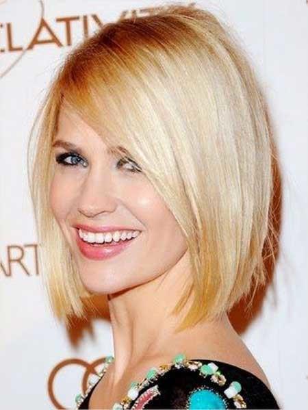 New-Short-Celebrity-Haircuts-January-Jones New Short Celebrity Haircuts 2019