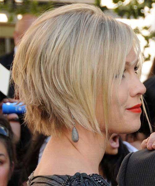 Nice-Layered-Blonde-Bob-Hair-for-Women Short Bob Hairstyles for Women