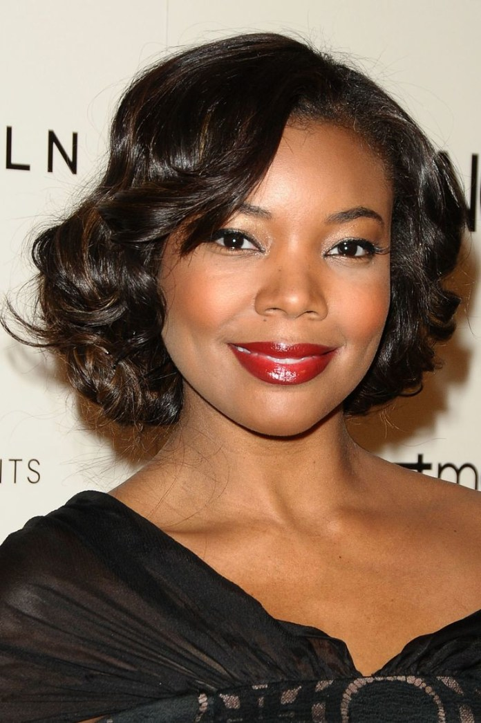 Pin-Curls Best Short Hairstyles for Black Women