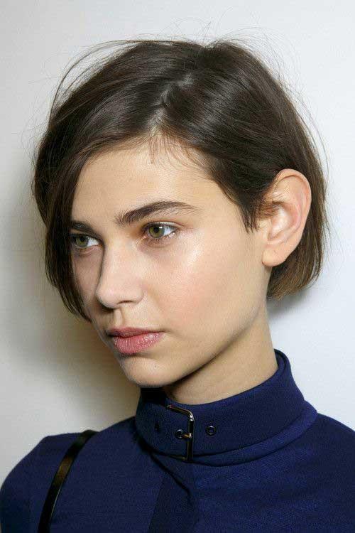 Pixie-Bob Short Haircut Pics for Straight Hair
