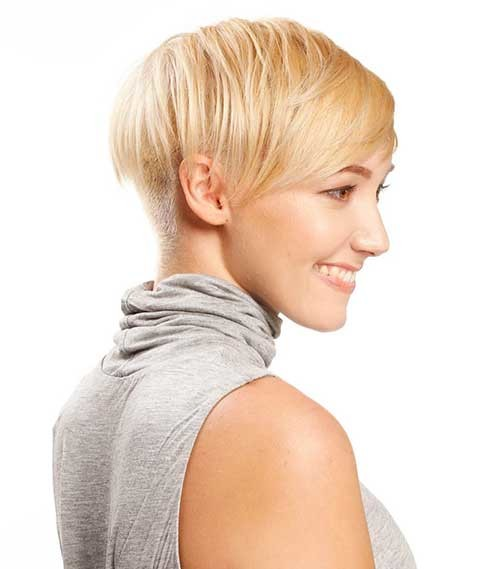 Pixie-Hairstyle-Tapered-Style Striking Short Hair Ideas for Blondies