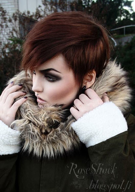 Red-Hair-1 Trendy Haircuts for Short Hair