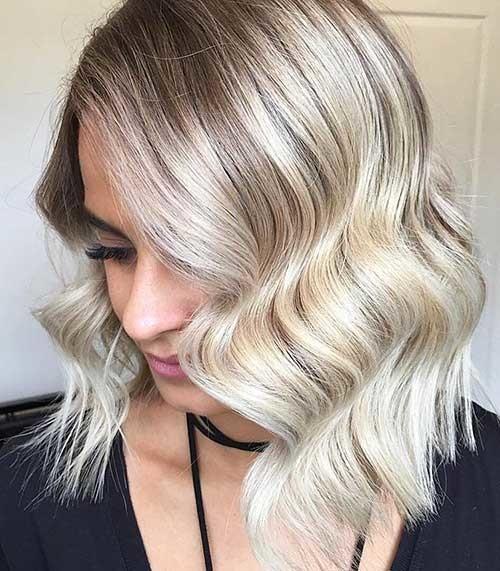 Sexy-Lob-Hairstyle Striking Short Hair Ideas for Blondies