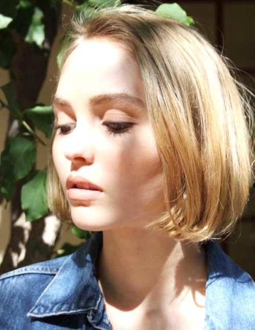 Short-Blonde-Straight-Hair Short Haircut Pics for Straight Hair