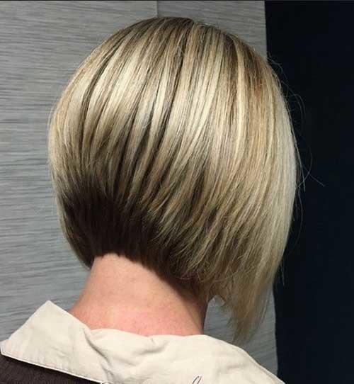 Short-Bob-Haircut-Back-View-for-Women Short Bob Hairstyles for Women
