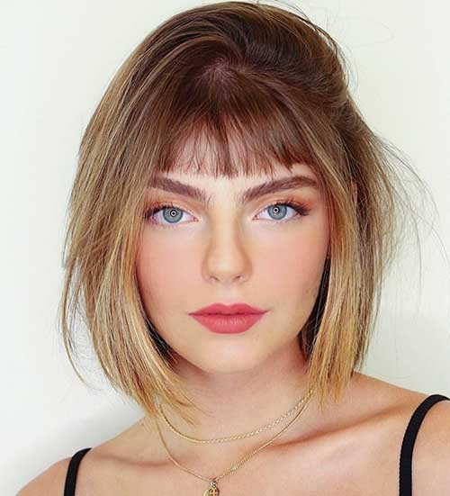 Short-Bob-with-Bangs-1 Best Hairstyle Ideas for Short Hair