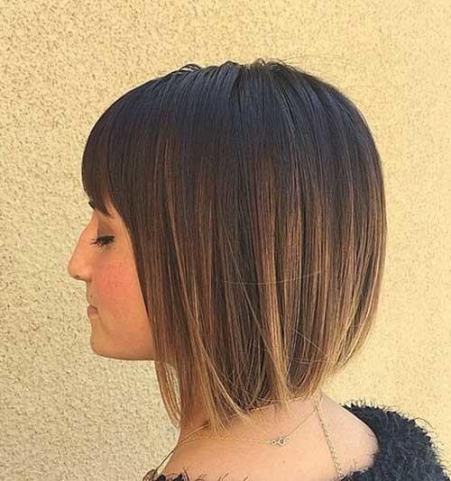 Short-Bob-with-Bangs-for-Women Short Bob Hairstyles for Women