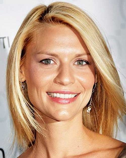 Short-Casual-Blonde-Bob Womens Short Hairstyles for Thin Hair
