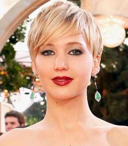Short-Childish-Blonde-Pixie Short blonde hairstyles