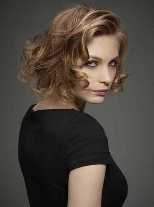 Short-Curly-Blonde-Hair-2015 Latest Curly Short Hairstyles 2019