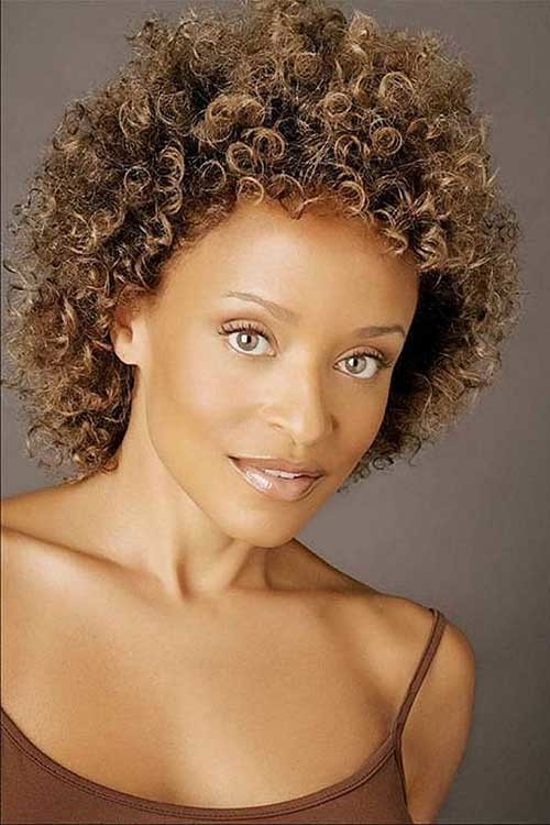 Short-Easy-Curly-Natural-Haircut Easy Hairstyles For Short Curly Hair